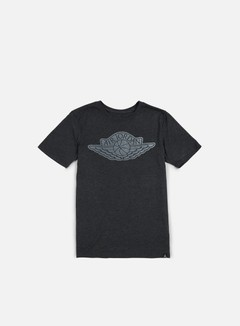 Jordan - The Iconic Wings T-shirt, Black Heather/White