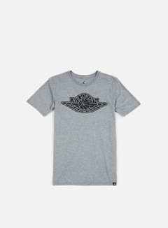 Jordan - The Iconic Wings T-shirt, Carbon Heather/Black 1