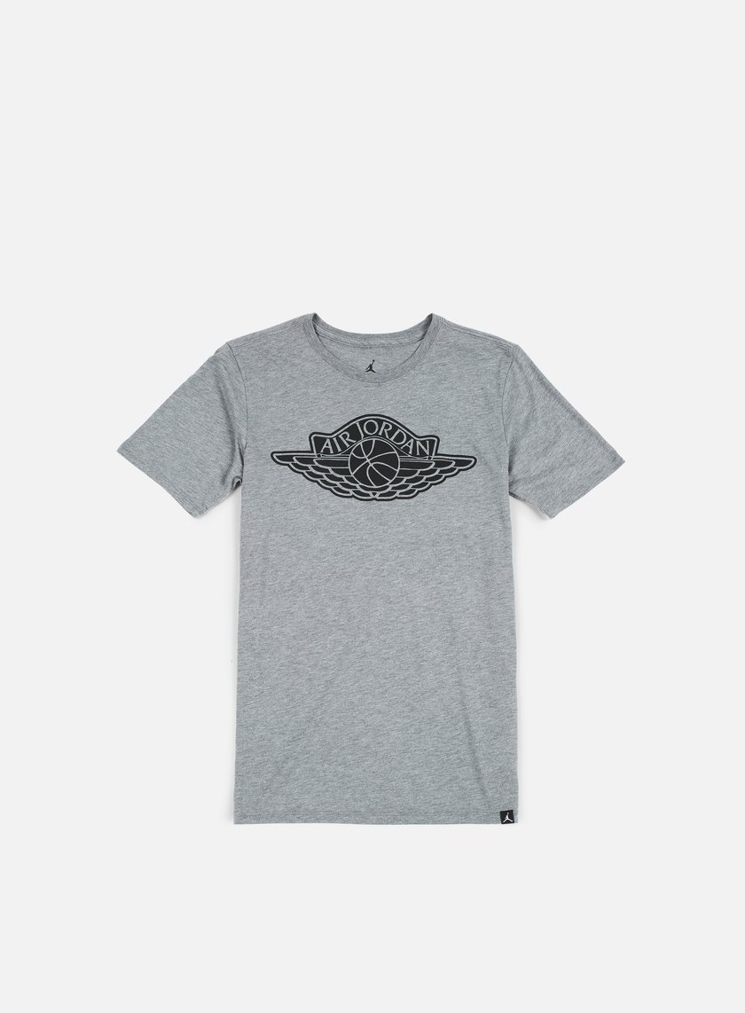 Jordan - The Iconic Wings T-shirt, Carbon Heather/Black