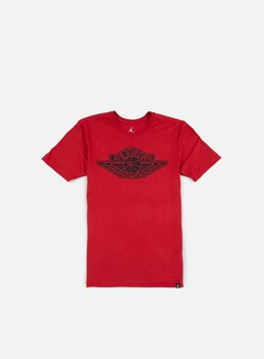 Jordan - The Iconic Wings T-shirt, Gym Red/Black