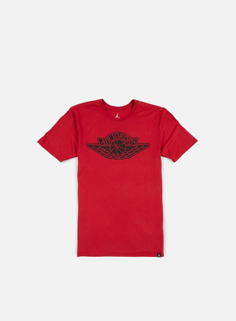 t shirt jordan the iconic wings t shirt gym red black