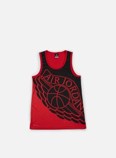 Jordan - Wings Blackout Tank Top, Black/Black 1