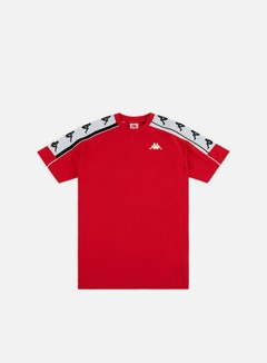 Kappa - 222 Banda 10 Arset T-shirt, Red/Black/White