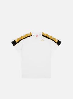 Kappa - 222 Banda 10 Arset T-shirt, White/Yellow/Gold