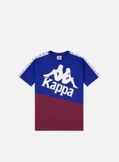 Kappa - 222 Banda Baldwin T-shirt, Blue/Violet/White
