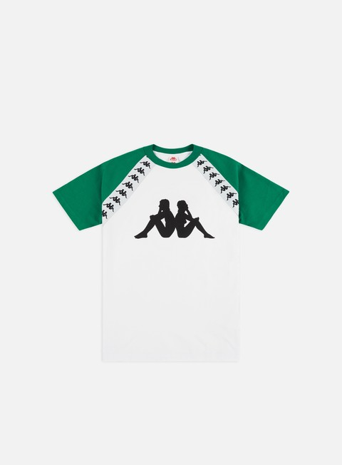 Outlet e Saldi T-shirt a Manica Corta Kappa 222 Banda Bardi T-shirt
