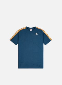 Kappa - 222 Banda Coen Slim T-shirt, Blue Cobalt/Bronze