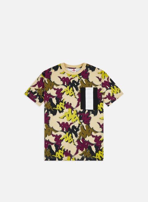 Short sleeve T-shirts Kappa 222 Banda Fapo Graphik Pocket T-shirt