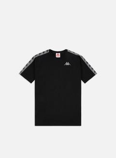 Kappa - 222 Banda Michael T-shirt, Black/Grey Reflective