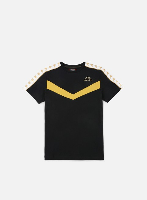 t shirt kappa banda atim t shirt black yellow gold