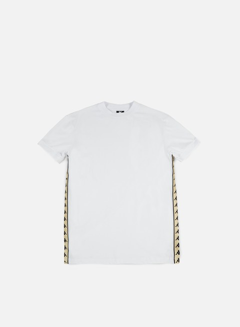 t shirt kappa kontroll banda t shirt white