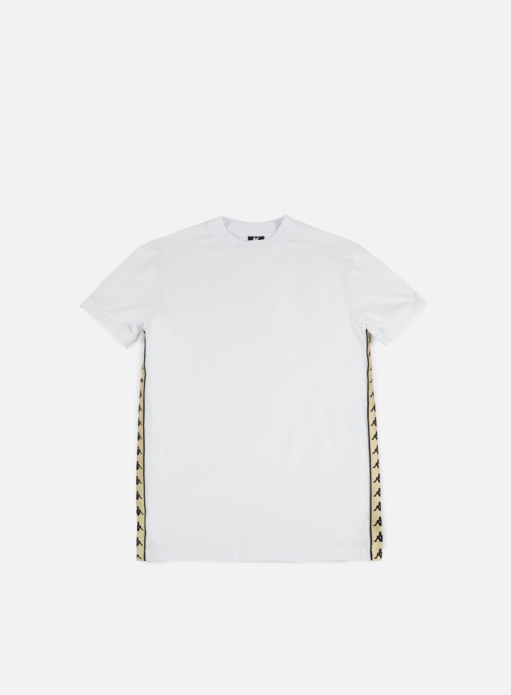 Kappa - Kontroll Banda T-shirt, White