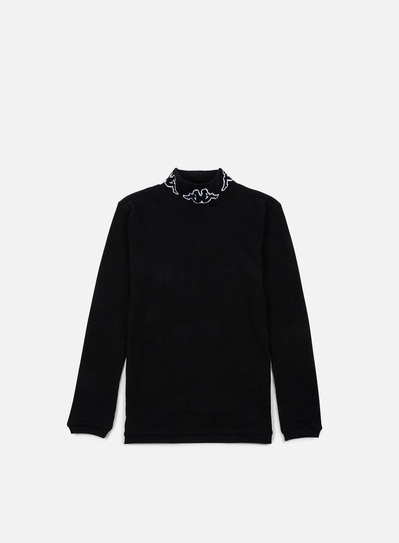 Kappa - Kontroll Turtle Neck LS T-shirt, Black