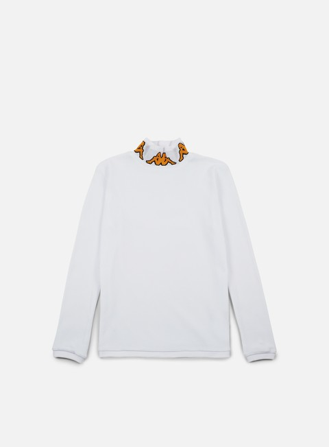 Long Sleeve T-shirts Kappa Kontroll Turtle Neck LS T-shirt,White