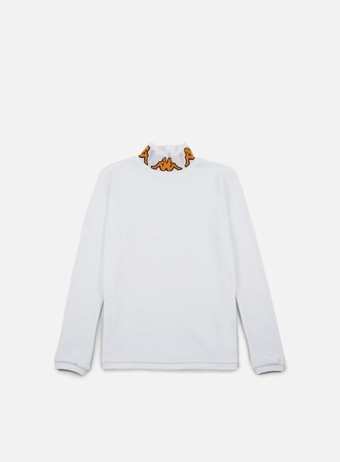 Kappa Kontroll Turtle Neck LS T-shirt,White
