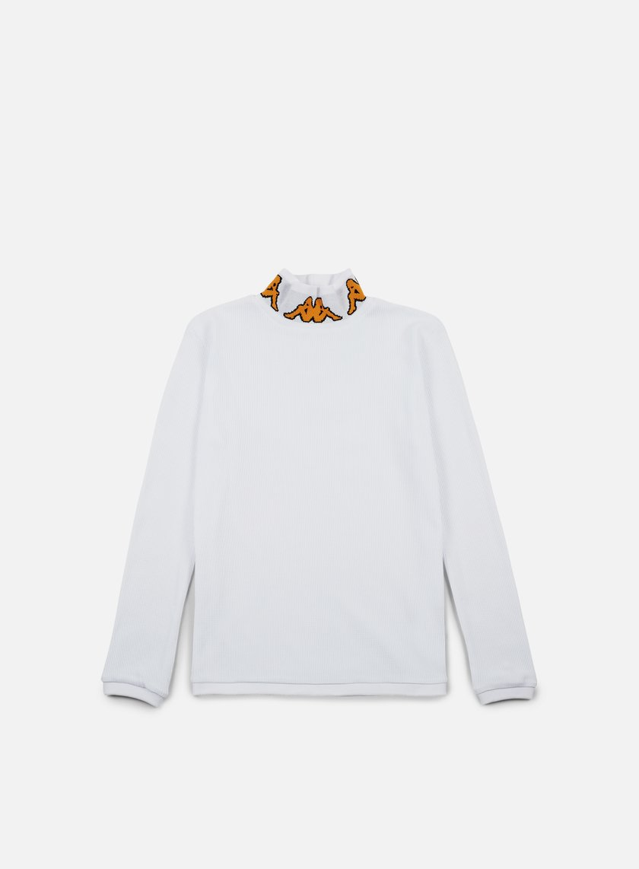 Kappa - Kontroll Turtle Neck LS T-shirt,White