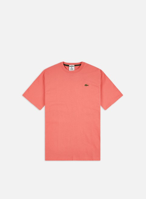 Short Sleeve T-shirts Lacoste Live Metal Crocodile Loose T-shirt
