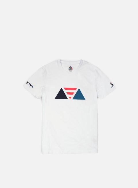 t shirt le coq sportif dynactif n 2 t shirt optical white