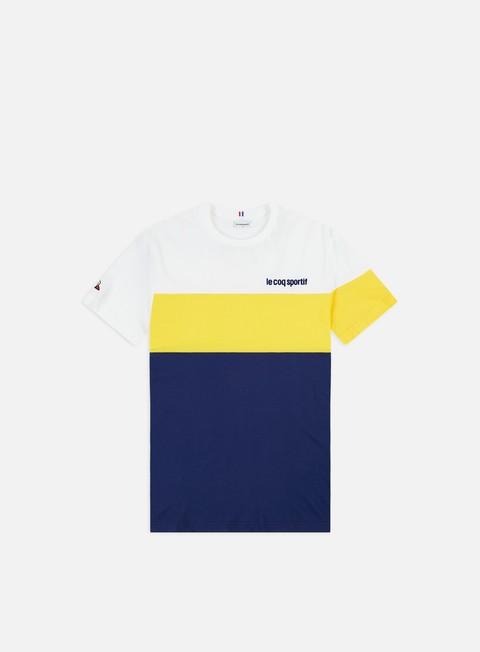 Outlet e Saldi T-shirt a Manica Corta Le Coq Sportif Essential Saison N 1 T-shirt