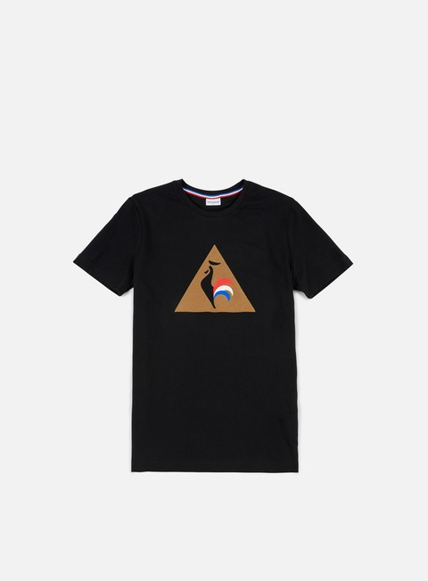 t shirt le coq sportif essential t shirt black