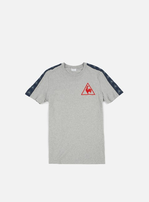 t shirt le coq sportif tri lf football 1 t shirt light heather grey