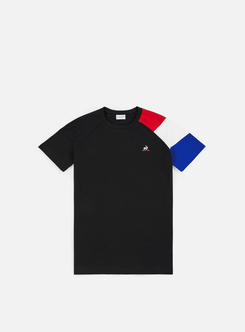 t shirt le coq sportif tricolore bbr n 2 t shirt black