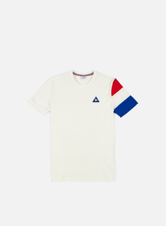 Le Coq Sportif - Tricolore BBR T-shirt, Marshmallow