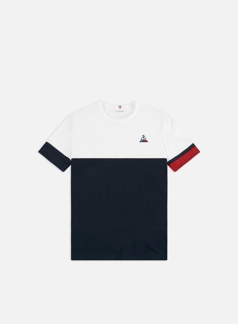 Outlet e Saldi T-shirt a Manica Corta Le Coq Sportif Tricolore N 4 T-shirt