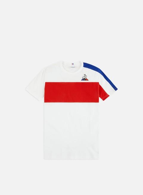 Outlet e Saldi T-shirt a Manica Corta Le Coq Sportif Tricolore N 6 T-shirt