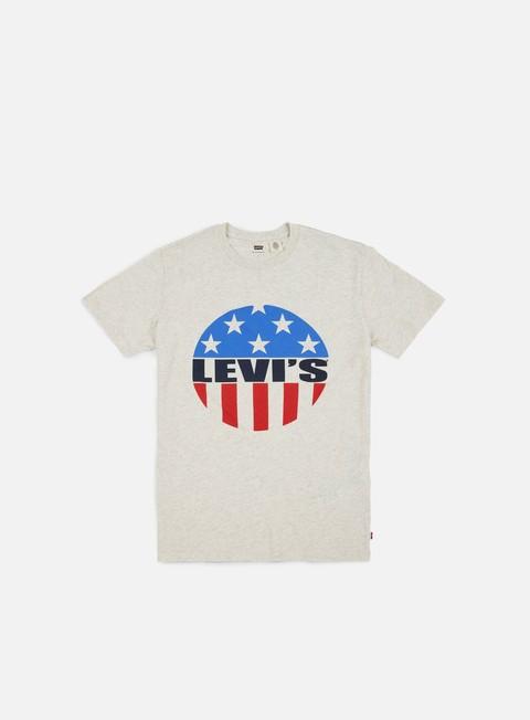Sale Outlet Short Sleeve T-shirts Levi's Brand HTR Bisqu T-shirt
