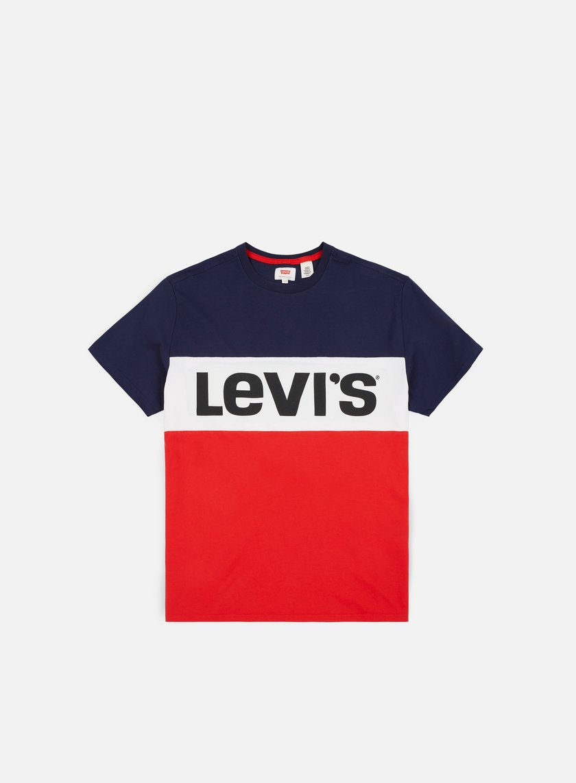 65005a5b1 LEVI'S Colorblock T-shirt € 23 Short Sleeve T-shirts | Graffitishop