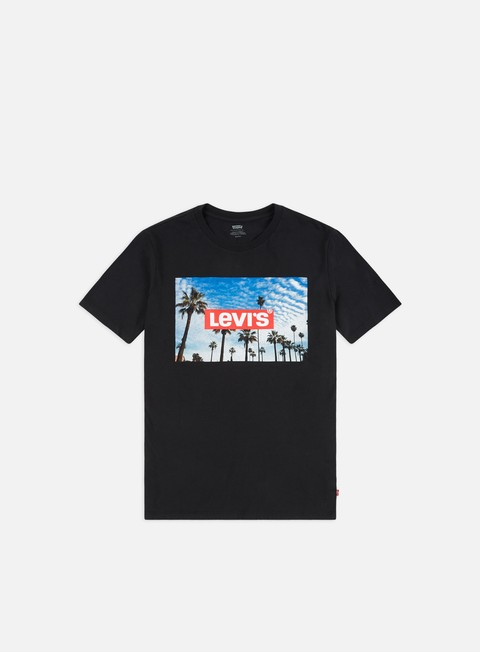 Sale Outlet Short Sleeve T-shirts Levi's Graphic Set-in Neck 2 Photo T-shirt