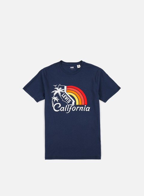 Sale Outlet Short Sleeve T-shirts Levi's Graphic Set In T-shirt