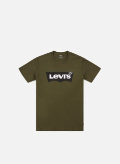 Levi's - Housemark Graphic T-shirt, Tech Olive Night