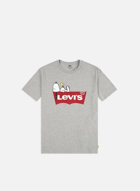 c750d038c5f0 Outlet e Saldi T-shirt a Manica Corta Levi's Peanuts Graphic 2 T-shirt