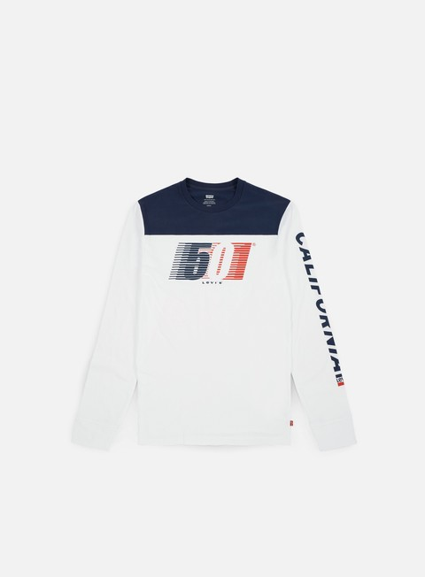 Long Sleeve T-shirts Levi's Pieced Graphic LS Shirt
