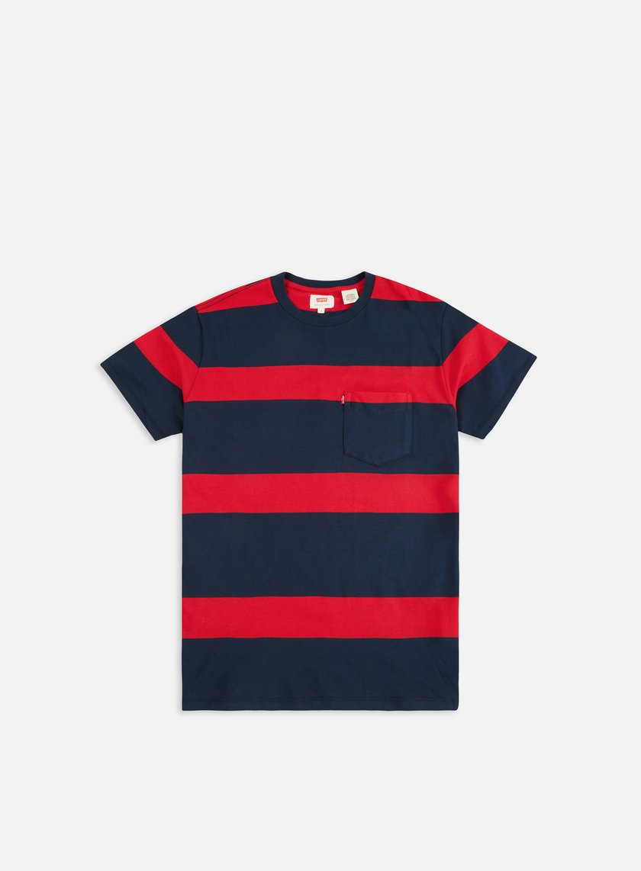 676550c9 LEVI'S Set In Sunset Pocket T-shirt € 23 Short Sleeve T-shirts ...