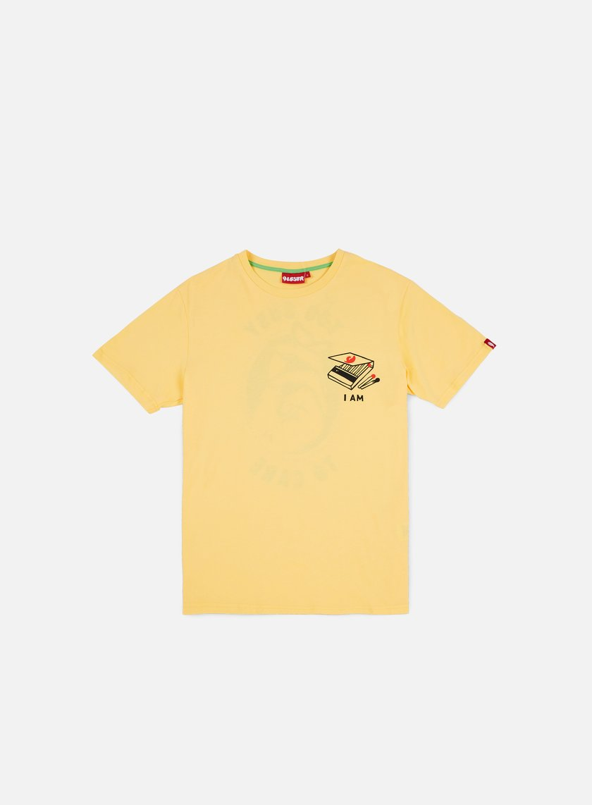 0a9028d80 LOBSTER - Busy T-shirt, Yellow € 22,40 - T-shirts Short Sleeve ...