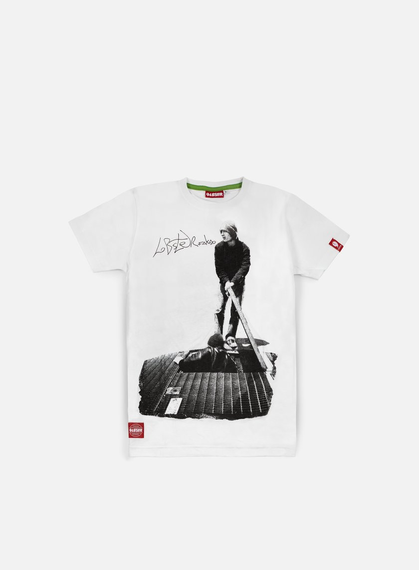 Lobster - Fakso T-shirt, White
