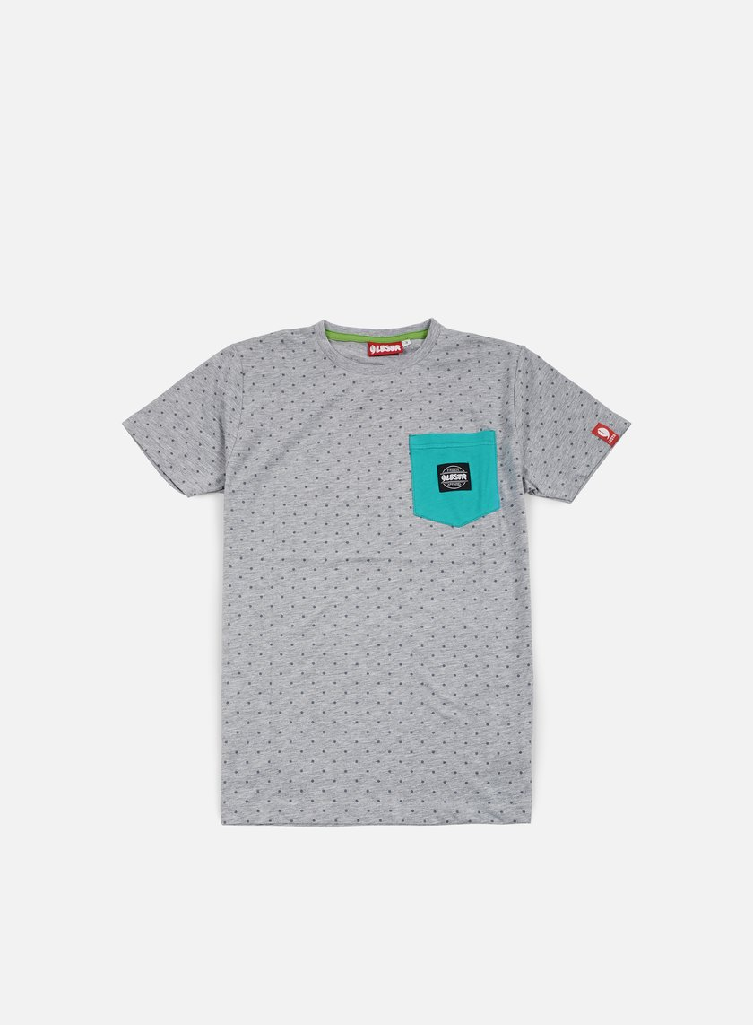 Lobster - Fine Pocket T-shirt, Athletic Grey