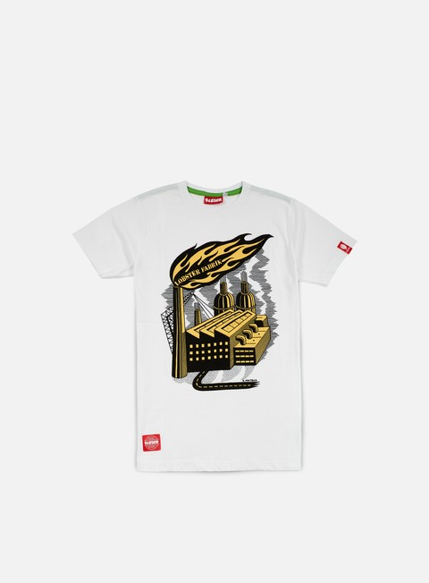 Outlet e Saldi T-shirt a Manica Corta Lobster Fritsch T-shirt White