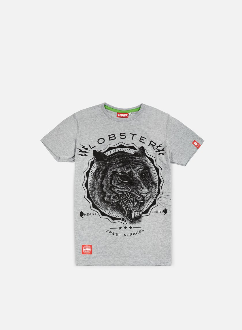 Lobster - Heart T-shirt, Athletic Grey