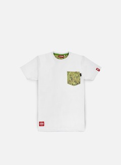 Lobster - Smoking Pocket T-shirt, White 1