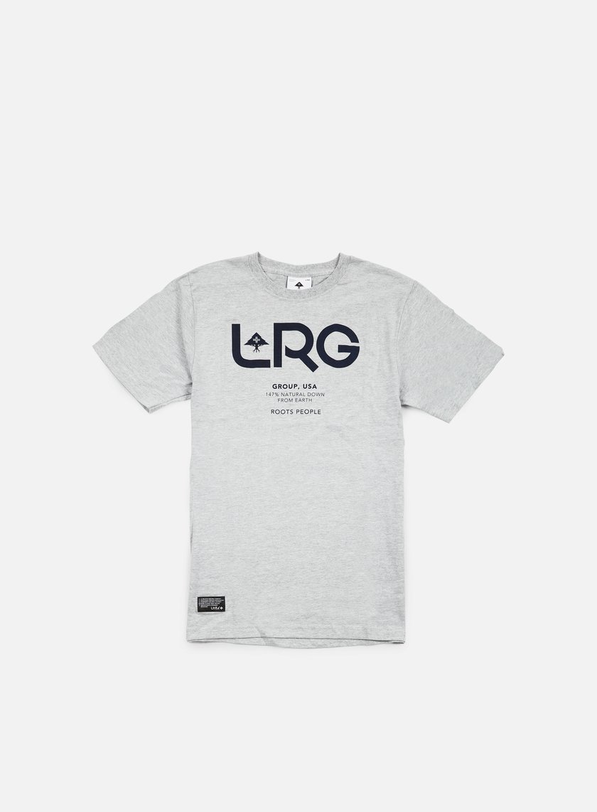 LRG - Earth Down T-shirt, Ash Heather
