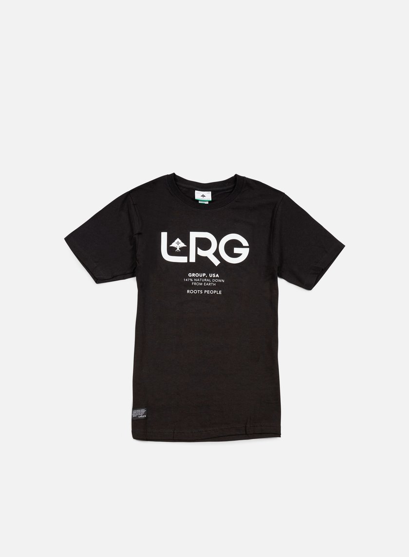 LRG - Earth Down T-shirt, Black