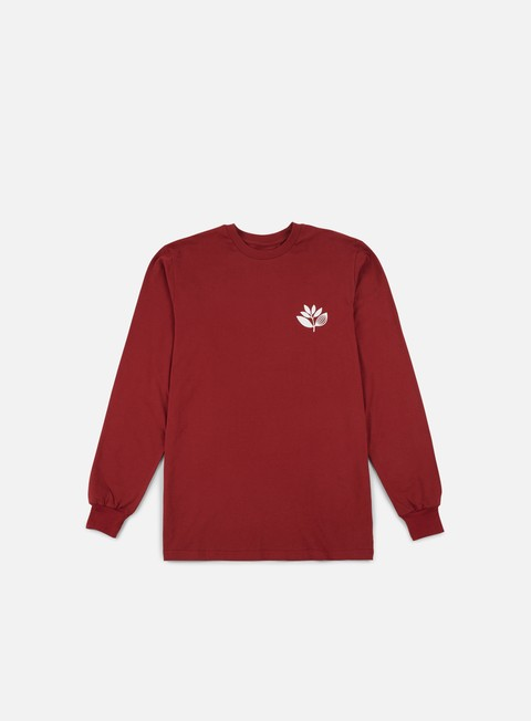 Long Sleeve T-shirts Magenta Classic LS T-shirt