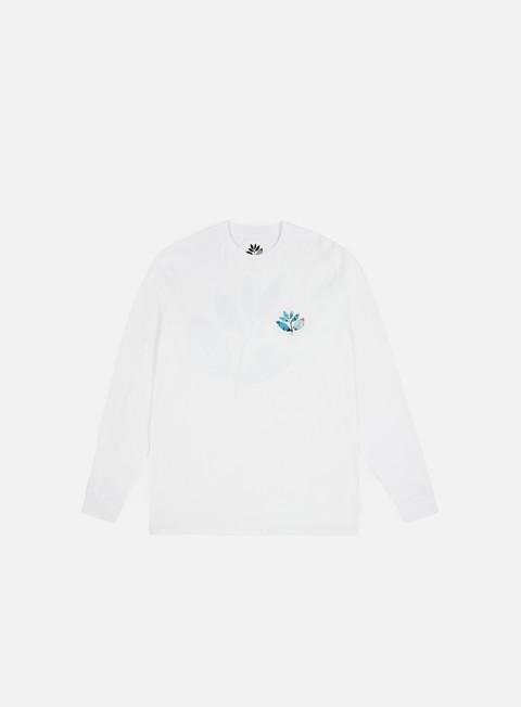 t shirt magenta miro ls t shirt white