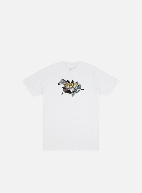 Outlet e Saldi T-shirt a Manica Corta Magenta Zebra T-shirt