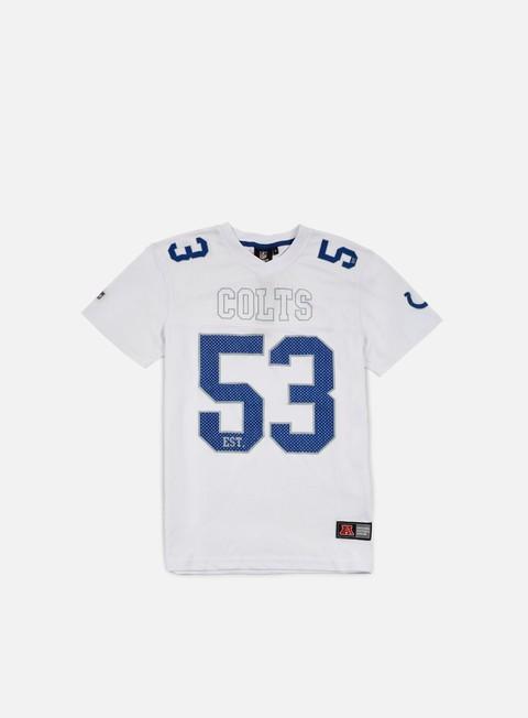 Outlet e Saldi T-shirt a manica corta Majestic Abris Mesh Jersey Indianapolis Colts