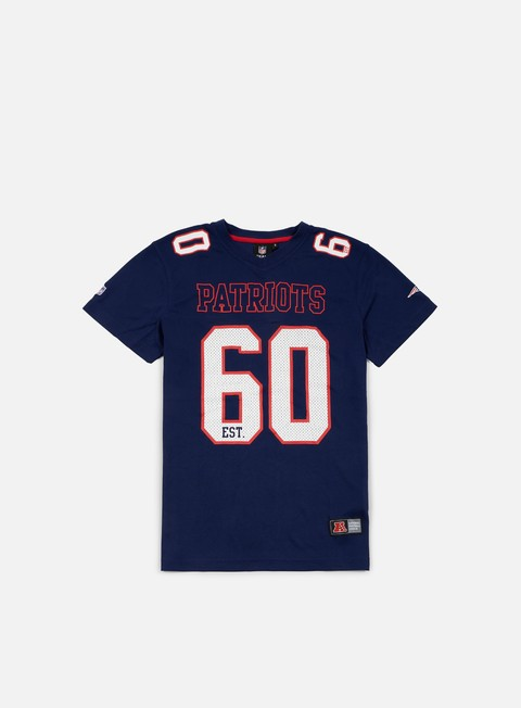 Outlet e Saldi T-shirt a Manica Corta Majestic Abris Mesh Jersey New England Patriots